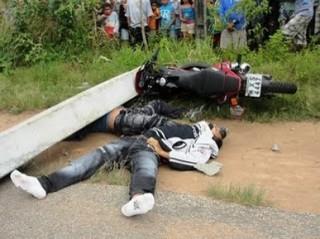 Acidente de moto mata dois jovens na Regi